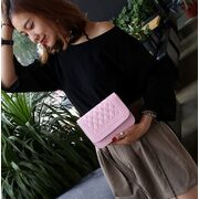 Женские сумки - Женская сумка, розовая П0639