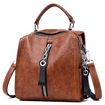 Женская сумка SAITEN, коричневая П0646