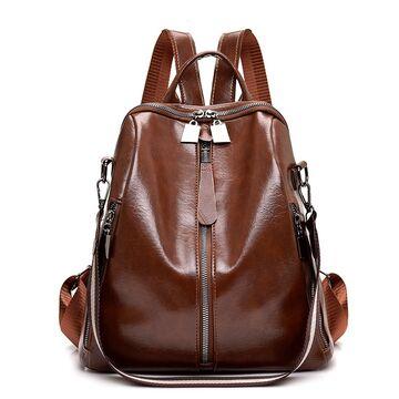 Рюкзак женский SAITEN, коричневый П0647
