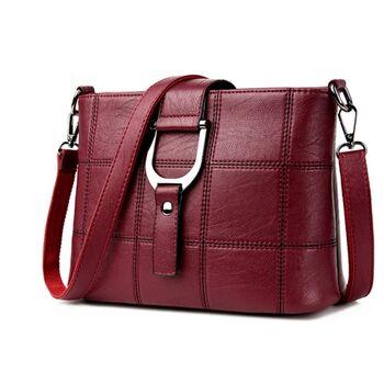 Женская сумка SAITEN, красная 0649