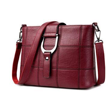 Женская сумка SAITEN, красная П0649