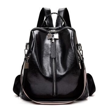 Женский рюкзак SAITEN, черный П0650
