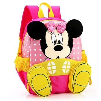 """Детский рюкзак """"Минни Маус"""" розовый 0652"""