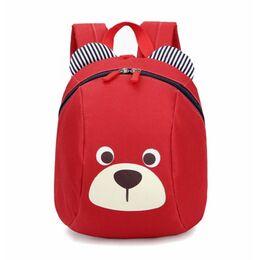 Детский рюкзак, красный 0654