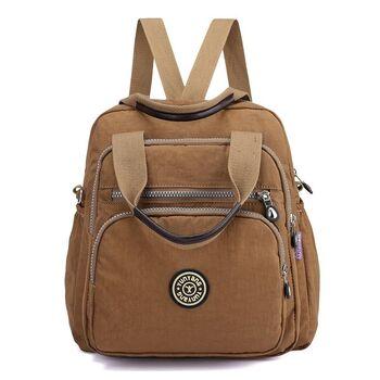 Женский рюкзак, коричневый 0657