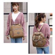 Женский рюкзак, коричневый П0657