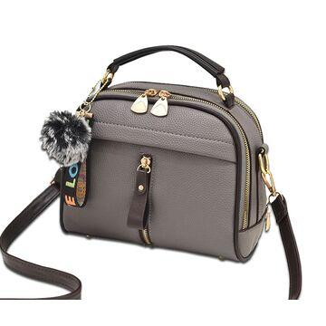 Женская сумка ETALOO, серая П0660