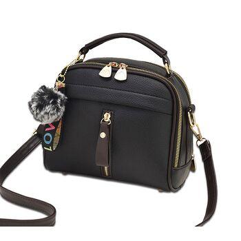 Женская сумка ETALOO, черная 0661
