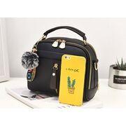 Женские сумки - Женская сумка ETALOO, черная П0661