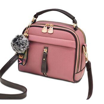 Женская сумка ETALOO, розовая 0662