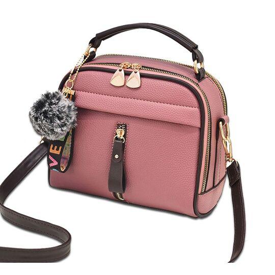 Женские сумки - Женская сумка ETALOO, розовая П0662