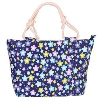 Женская сумка, синяя 0670