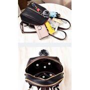Женский рюкзак, черный П0674