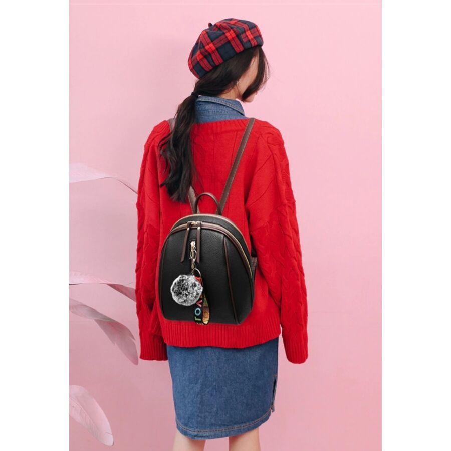 Женские рюкзаки - Женский рюкзак, черный 0674