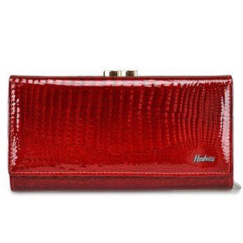 Женский кошелек HH, красный 0676