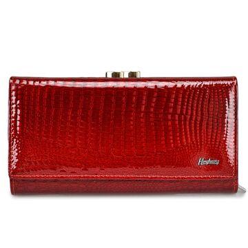 Женский кошелек HH, красный П0676