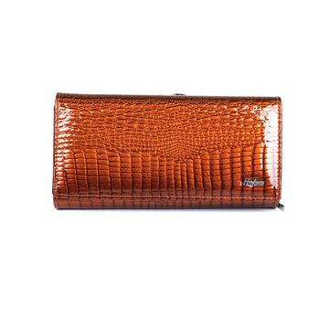 Женский кошелек HH, коричневый 0678