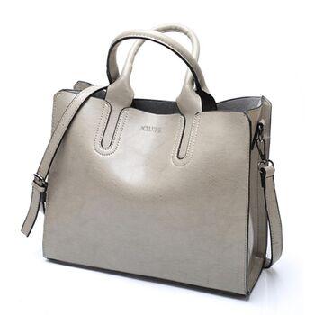 Женская сумка ACELURE, серая 0678
