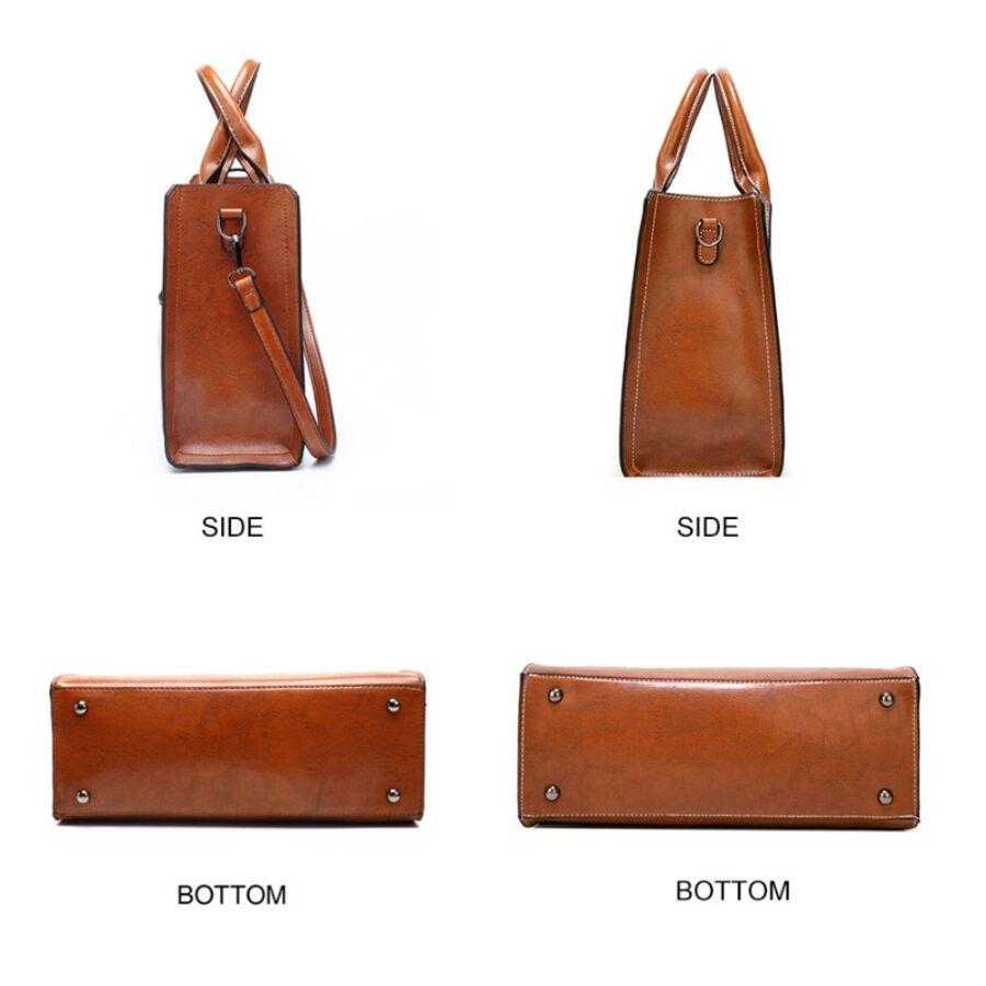 Женские сумки - Женская сумка ACELURE, серая 0678