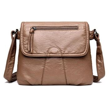Женская сумка REPRCLA, коричневая 0680