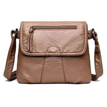 Женская сумка REPRCLA, коричневая П0680
