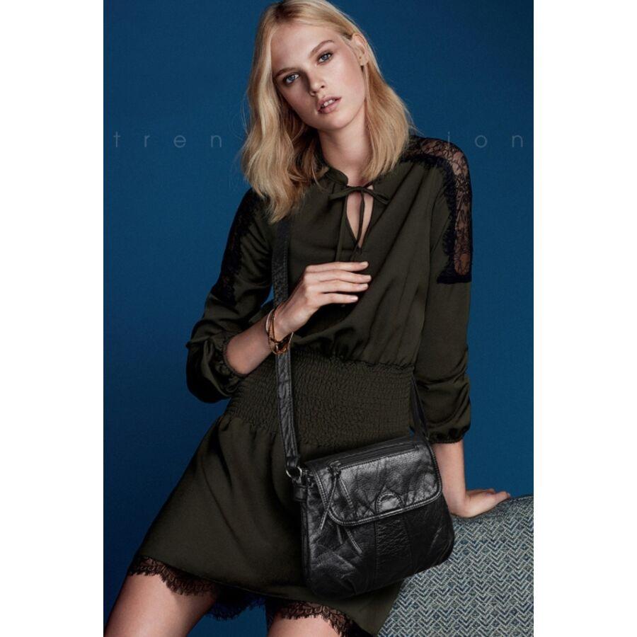 Женские сумки - Женская сумка REPRCLA, коричневая 0680
