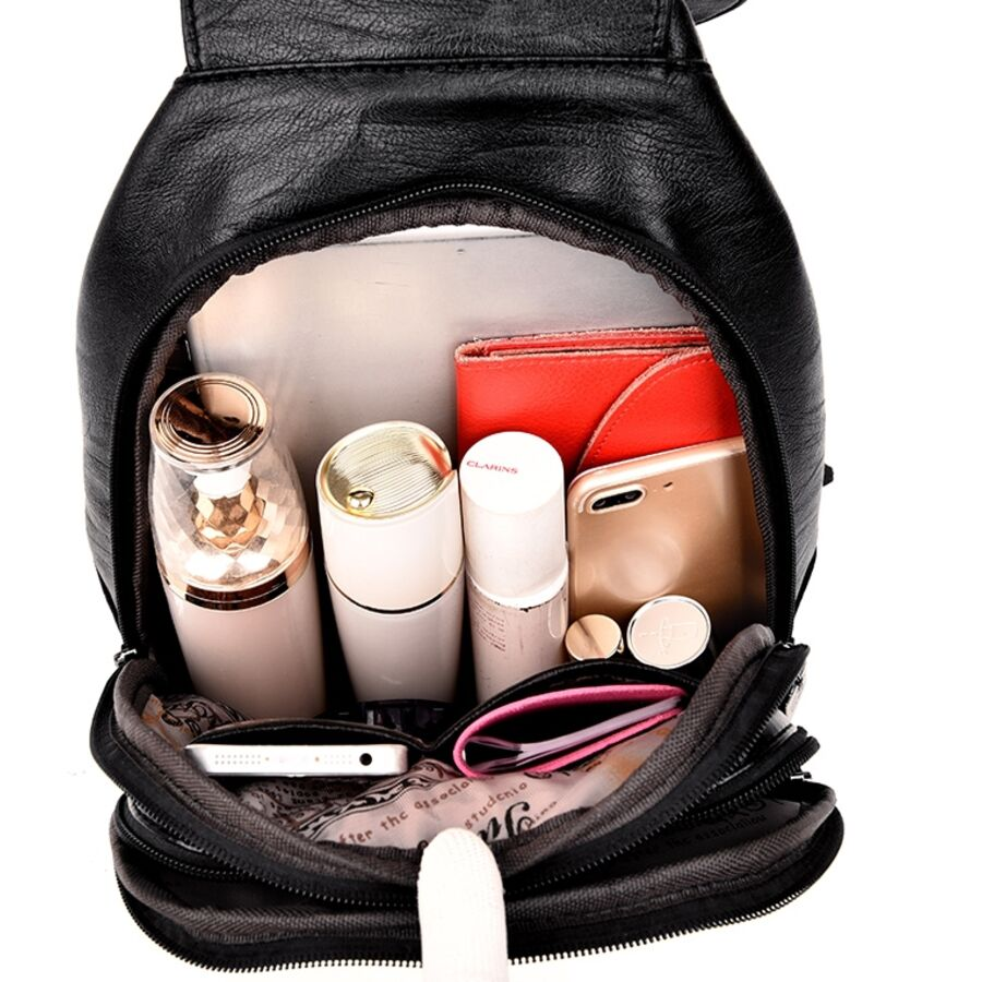 Женские рюкзаки - Женский рюкзак PHTESS , черный 0681