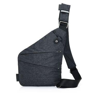 Мужская сумка слинг на правое плечо - П0686