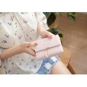 Женские кошельки - Женский кошелек, розовый - П0693