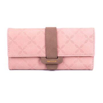 Женский кошелек City Light, розовый - П0702
