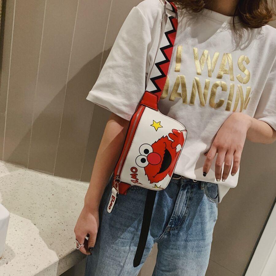 Женские сумки - Сумка поясная, бананка