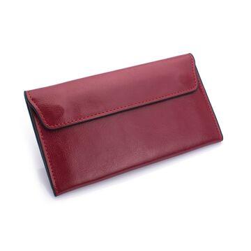 Женский кошелек, красный П0714