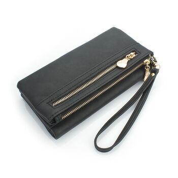 Женский кошелек DOLOVE, черный - 0718