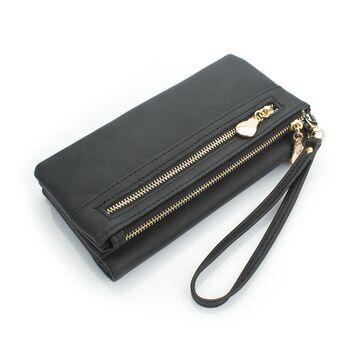 Женский кошелек DOLOVE, черный - П0718