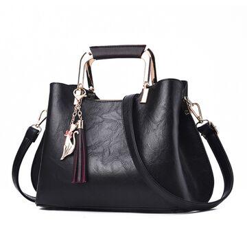 Женская сумка Shunvbasha, черная П0721
