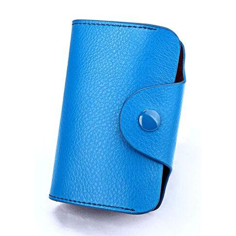 Визитницы - Визитница голубая П0728