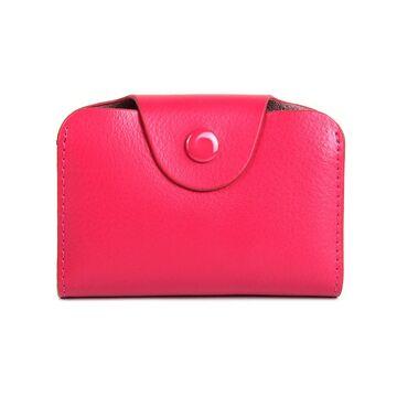 Визитница, розовая П0729