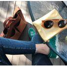 Женские сумки - Сумка женская, черная П0734