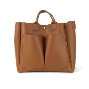 Женская сумка, коричневая 0735