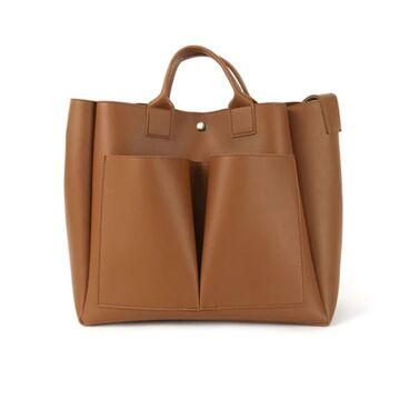 Женская сумка, коричневая П0735