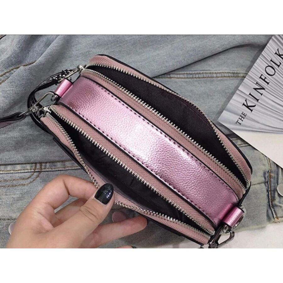 Женские сумки - Женская сумка, серая 0738