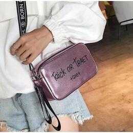 Женская сумка , розовая 0740