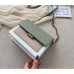 Женская сумка, зеленая 0745