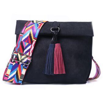 Женская сумка DAUNAVIA, черная П0749