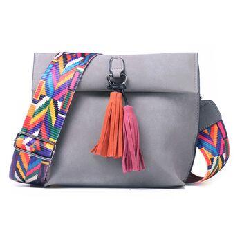 Женская сумка DAUNAVIA, серая 0750