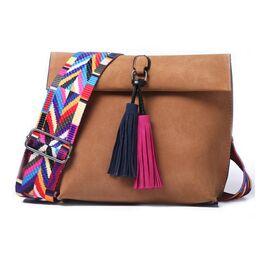 Женская сумка DAUNAVIA, коричневая 0751