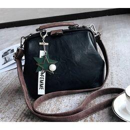 Женская сумка, черная 0758