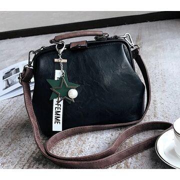 Женская сумка, черная П0758