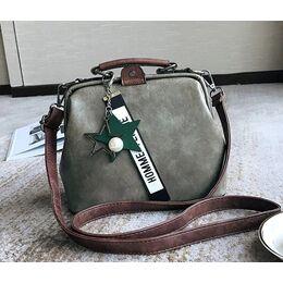 Женская сумка, серая 0759