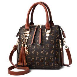 Женская сумка, коричневая 0765